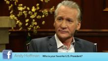 Bill Maher on his favorite president & Bush's presidency