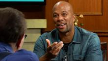 Common with guest host Baron Davis
