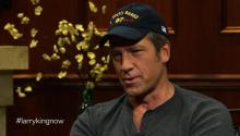 Mike Rowe talks to Larry King about Dirty Jobs Down Under show, favorite dirty job, & blue collar work