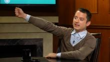 "Elijah Wood: Selfies Are ""Ridiculous"", ""Self-Involved"""