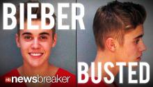 BIEBER BUSTED: Pop Star Arrested for DUI, Resisting Arrest and More