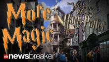 MORE MAGIC: Universal Studios Gives Fans First Look at Wizarding World of Harry Potter Expansion