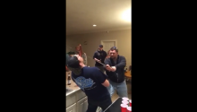 Drunk Guy Cuts Off Friend's Nose With Sword In Party Stunt Gone Horrible