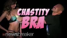 CHASTITY BRA: New Lingerie Only Unlocks For Partners You're in Love With