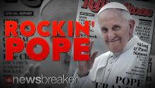 ROCKIN' POPE: Pontiff Becomes First Catholic Leader to Grace the Cover of Rolling Stone