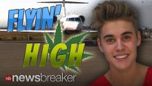 FLYIN' HIGH: Justin Bieber's Weed Use Allegedly Forced Pilots to Wear Masks