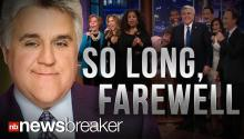 SO LONG, FAREWELL: Billy Crystal, Along with Special Celebrity Guests, Say Goodbye to Jay Leno in Emotional Final Episode