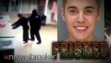 BIEBER FRISKED: Video Footage of Justin's Pat Down at Miami Police Station Goes Viral