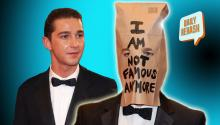 Shia LeBeouf's Plagiarism & a Brown Paper Bag