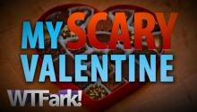 MY SCARY VALENTINE: Man Brings Chocolate, Sniffs Furniture, Refuses To Leave Apartment