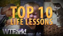 TOP 10 LIFE LESSONS: Don't Stick Your D**k In The Mashed Potatoes And Some Other Stuff