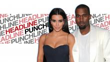 Headline Punchline: Kim and Kayne's Free Paris Wedding