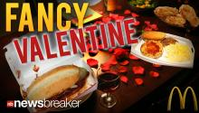 FANCY VALENTINE: Tampa McDonald's Taking Reservations for White Tablecloth V-Day Meal