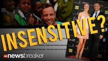 INSENSITIVE?: Oscar Pistorius Posts Valentine's Day Message About Dead Girlfriend He's Accused of Killing