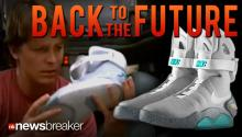 BACK TO THE FUTURE: Nike Set to Release Self-Tying Shoes Using Fitted Sensors