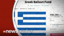 Man Launches Crowdfunding Page To Help Greece Out of Financial Crisis