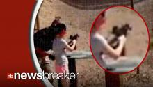 CAUGHT ON TAPE: Last Seconds of Gun Instructor's Life Before Being Accidentally Shot to Death by 9-year-old Girl