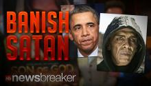 "BANISH SATAN: The Devil Completely Cut From ""The Bible"" Movie For Looking Too Much Like President Obama"