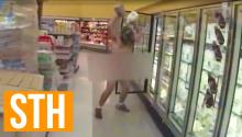 Naked Kentucky Man Pours Milk On Head At Wal-Mart, Claims He's On Fire
