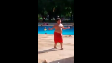Meet Cuban Pete, Swimming Pool Dance God