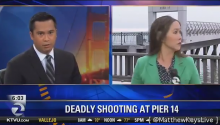 Gunman Robs TV News Camera Crew During Live Report On Local Shooting
