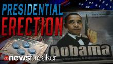 PRESIDENTIAL ERECTION: Mister Obama Serves as the Face of Contraband Viagra in Pakistan