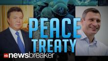PEACE TREATY: Opposition Leaders Sign Agreement in Ukraine Hoping to End Months of Civil Unrest