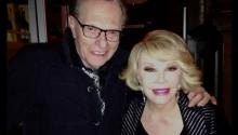 Larry King on the Passing Of His Dear Friend Joan Rivers