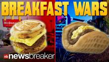 BREAKFAST WARS: Taco Bell Reveals New Menu on Same Day as McDonald's Announces Possible Hour Extension