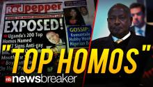"""TOP HOMOS"": Uganda Paper Prints List ""Exposing"" 200 in LGBT Community a Day After Country Enacts Anti-Gay Laws"