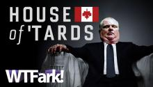 HOUSE OF 'TARDS: Rob Ford Says He's Not Drinking... Except For The Times He's Drinking