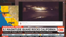 CNN Got Pranked By Fake Cop During Napa Valley Earthquake