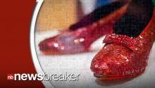 Anonymous Donor Pledges $1 Million Reward for Stolen 'Wizard of Oz' Ruby Slippers