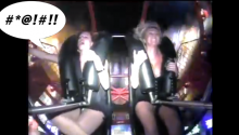 Girl Gets Too Excited On The Slingshot Ride. Yes, *That* Kind Of Too Excited.