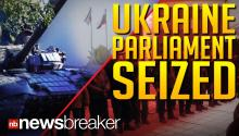 UKRAINE PARLIAMENT SEIZED: Gunman Take Over Government Offices Close to Russian Border; Moscow Backs Ousted Leader