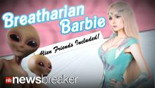 BREATHARIAN BARBIE: Human Doll Reveals She is Training to Live Without Food and Water