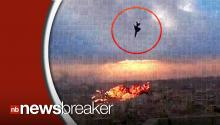 CAUGHT ON TAPE: Jarring Images Show Jet Crashing Into Building During Military Ceremony in Libya