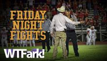 FRIDAY NIGHT FIGHTS: Armed Texas Constable Storms High School Football Field To Argue With Refs. Wait- What The Hell Is A Constable?