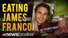 EATING JAMES FRANCO: Bite Lab Claims It Wants to Start Experimenting with Celebrity Tissue to Make Edible Meats