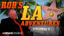 "ROB'S L.A. ADVENTURES: Toronto Mayor Ford Visits Los Angeles to Talk ""Hollywood North""; Appears on Jimmy Kimmel"