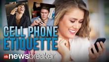 CELL PHONE ETIQUETTE: Mobile Research Firm Publishes List of When Not to Use Your Smartphone