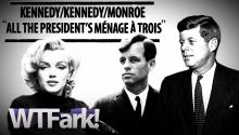 ALL THE PRESIDENT'S MENAGE A TROIS: JFK, RFK, Marilyn Monroe Sex Tape is Real... Maybe