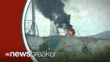 Iconic Colossus Roller Coaster Catches Fire At Six Flags Magic Mountain