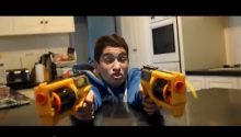 Most Epic Nerf War In History...