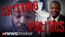SH*TTING POLITICS: Congressional Candidate Releases Video of Himself Ranting on the Toilet