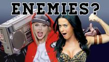 Taylor Swift and Katy Perry are Enemies