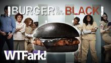 BURGER IS THE NEW BLACK: Burger King Brings Back Black Burger In Japan. Mmm... Bamboo Ash.