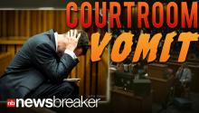 COURTROOM VOMIT: Oscar Pistorius Sick in Court as Pathologist Describes Girlfriend's Bullet Wounds