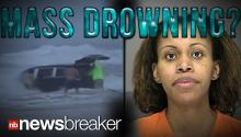 MASS DROWNING?: Mother Charged with Attempted Murder After Driving Van Full of Kids Into Ocean