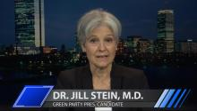 Green Party's Jill Stein: Nearly Half Of Electorate Embracing Third Party Ideals